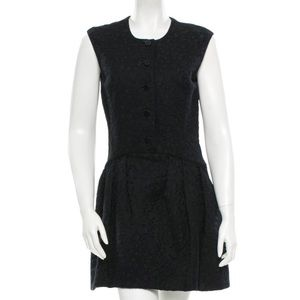 • Theyskens Theory • Jacquard Black Mini Dress 4